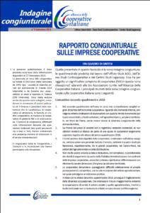 N. 9 – RAPPORTO CONGIUNTURALE SULLE IMPRESE COOPERATIVE – SETTEMBRE 2016