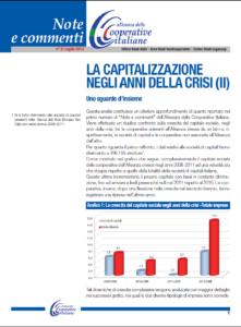 N.2 LA CAPITALIZZAZIONE NEGLI ANNI DELLA CRISI (II) UNO SGUARDO D'INSIEME – LUGLIO 2013
