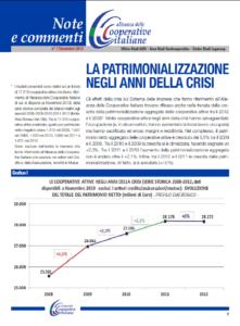 N.7 LA PATRIMONIALIZZAZIONE NEGLI ANNI DELLA CRISI – DICEMBRE 2013