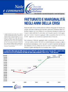N.9 FATTURATO E MARGINALITÀ NEGLI ANNI DELLA CRISI – GENNAIO 2014