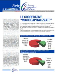 """N.17 LE COOPERATIVE """"MICROCAPITALIZZATE"""" – GIUGNO 2014"""