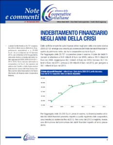 N.26 INDEBITAMENTO FINANZIARIO NEGLI ANNI DELLA CRISI – GENNAIO 2015