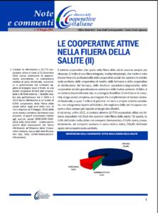 N. 45 – LE COOPERATIVE ATTIVE NELLA FILIERA DELLA SALUTE (II)