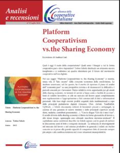 N. 9 – Platform Cooperativism vs. the Sharing Economy – LUGLIO 2016