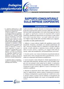 N.12-RAPPORTO CONGIUNTURALE SULLE IMPRESE COOPERATIVE – SETTEMBRE 2017