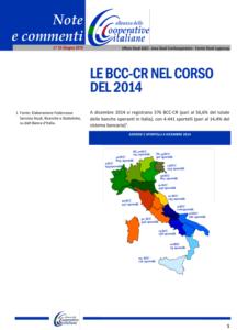 N.33 – LE BCC-CR NEL CORSO DEL 2014 – Giugno 2015