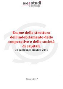 Esame della struttura dell'indebitamento delle cooperative e delle società di capitali.