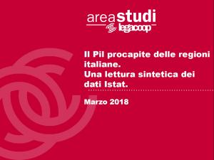 Il Pil procapite delle regioni italiane.Una lettura sintetica dei dati Istat – Marzo 2018