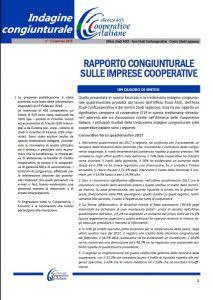 N.13-RAPPORTO CONGIUNTURALE SULLE IMPRESE COOPERATIVE – GENNAIO 2018
