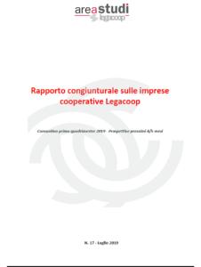 N. 17 – RAPPORTO CONGIUNTURALE SULLE IMPRESE COOPERATIVE LUGLIO 2019