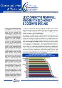 Osservatorio Alleanza: Le cooperative femminili: modernità economica e coesione sociale