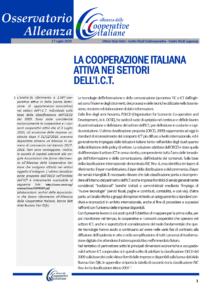 Osservatorio Alleanza: Il rilancio: La cooperazione italiana attiva nei settori dell'I.C.T.