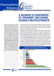 """Osservatorio Alleanza: Il rilancio: Le cooperative di """"stranieri"""", inclusione sociale e multiculturalità"""