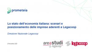 Rapporto annuale AreaStudi Legacoop-Prometeia 2020