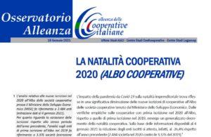 Osservatorio Alleanza – LaNatalità Cooperativa2020 (Albo Cooperative)