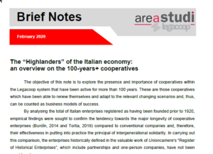 """The """"Highlanders"""" of the Italian economy: an overview on the 100-years+ cooperatives"""