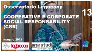 Osservatorio Legacoop: Cooperative e Corporate Social Responsibility (CSR)