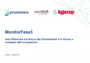 MonitorFase3 «Una riflessione sul blocco dei licenziamenti e le misure a sostegno dell'occupazione»