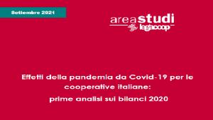 Note brevi: Effetti della pandemia da Covid-19 per le cooperative italiane: prime analisi sui bilanci 2020